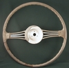 1949 Triumph Roadster steering wheel