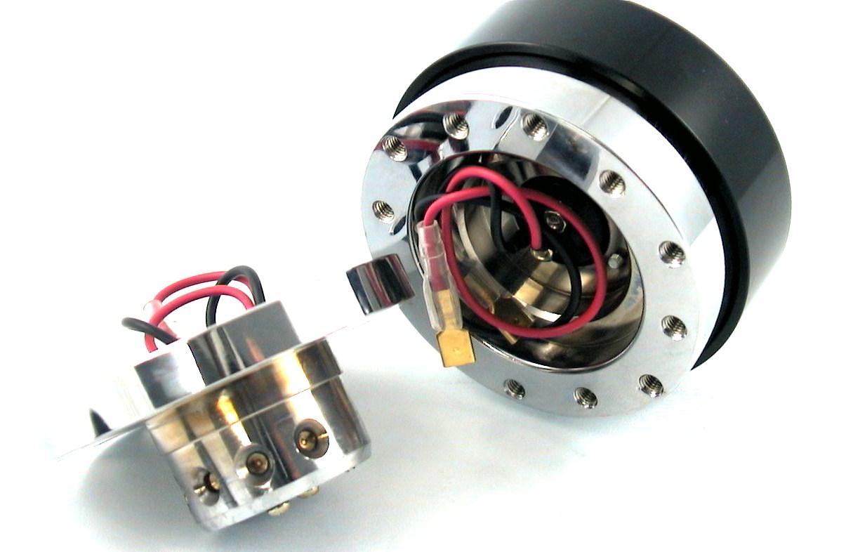 Blau Homyl Snap-Off Lenkrad Lenkradnabe Schnellverschluss Hub Racing Adapter Quick Demontage Release f/ür Sparco Momo OMP
